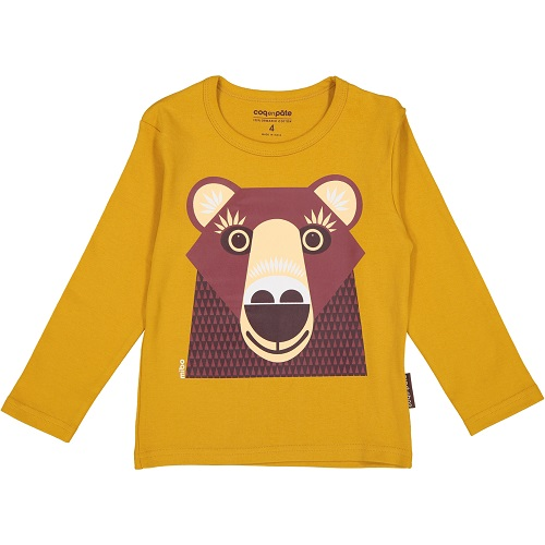 Long Sleeve T-Shirt - Brown Bear 2 year