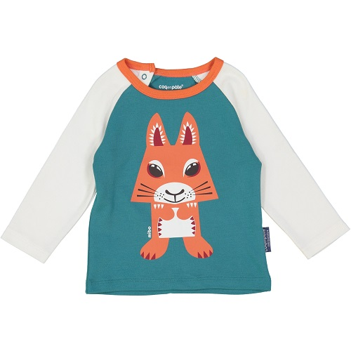 Coq en Pate - Squirrel Long Sleeve T-Shirt 2 year WHILE QTY LAST