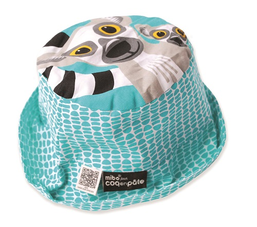 Sun Hat - Lemur Medium