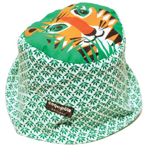 Coq en Pate - Tiger Sun Hat Small WHILE QTY LAST