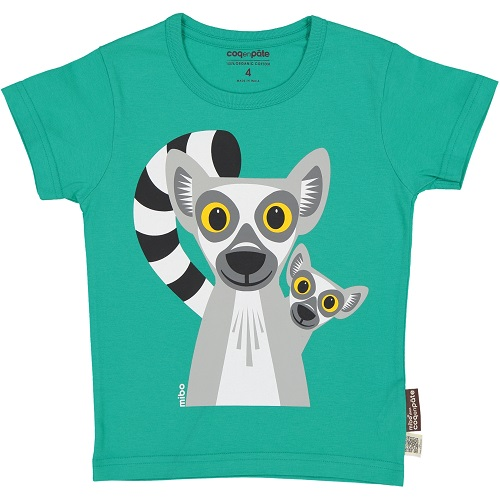Short Sleeve T-Shirt - Lemur 2 year