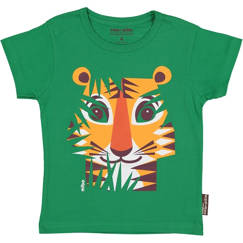Short Sleeve T-Shirt - Tiger 4 year
